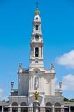 法蒂玛圣所在葡萄牙 库存图片
