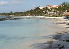 法蒂玛海湾, Puerto Aventuras,墨西哥 免版税库存图片