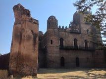 法西尔城堡贡德尔埃塞俄比亚 免版税库存照片