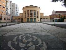 法西斯主义的建筑学 库存照片