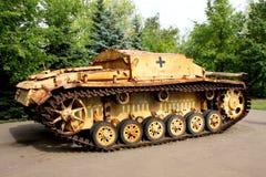法西斯主义的德国坦克 库存图片