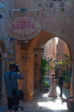 贾法角,耶路撒冷旧城,以色列,中东 图库摄影