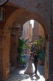 贾法角,耶路撒冷旧城,以色列,中东 免版税图库摄影