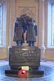 法警费迪南・福煦坟茔在圣路易斯大教堂里  库存图片