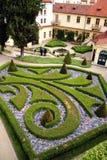 法语从事园艺布拉格 免版税库存照片
