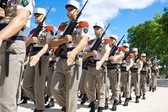 法语外国军队 免版税库存照片
