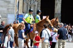 法语登上的警察03 免版税库存照片