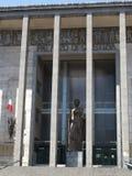 法院大厦的看法 免版税图库摄影