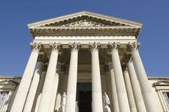 法院大楼前面  免版税库存图片