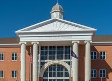 法院大楼在圣乔治犹他 免版税库存图片