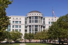 法院大楼在盐湖城,犹他 库存图片