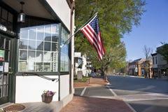 法院大楼在Warrenton,弗吉尼亚 免版税库存图片