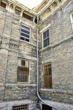 法院大楼墙壁 免版税库存图片