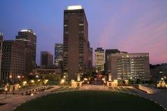法院大楼广场 库存照片