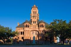 法院大楼得克萨斯waxahachie 免版税库存照片