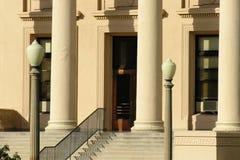 法院大楼步骤 免版税库存图片