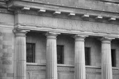 法院大楼 库存照片