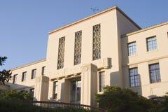 法院大楼deco 免版税库存图片