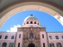 法院大楼tuscon 免版税库存照片