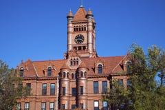 法院大楼wheaton 库存照片