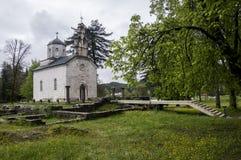 法院教会在采蒂涅 免版税图库摄影