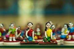 法院玩偶 免版税库存照片