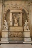 法院de巴黎 库存照片