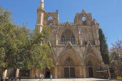 法马古斯塔Gazimagusa,塞浦路斯老镇  库存照片