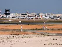 法鲁机场 图库摄影