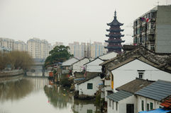 泗泾镇上海 免版税图库摄影