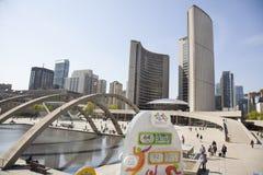 泛美航空2015标志多伦多 免版税图库摄影
