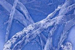 泡影包括大冰湖 库存照片
