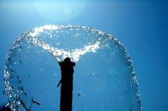 泡影喷泉 库存照片