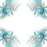 泡影复制鱼例证生活海运海草空间文本向量 图库摄影
