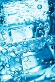 泡影多维数据集冰水 免版税库存图片