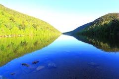 泡影池塘阿科底亚国家公园 免版税库存照片
