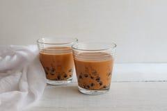 泡影牛奶茶 库存图片
