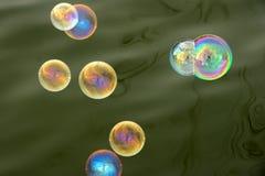 泡影肥皂 图库摄影
