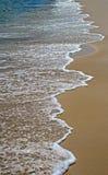 泡沫似的海浪 免版税图库摄影