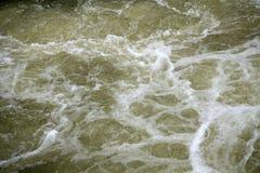 泡沫似的自然海洋背景流动的泡沫的液体 免版税图库摄影