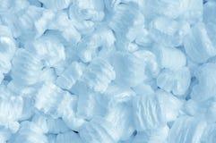 蓝色泡沫 免版税库存照片