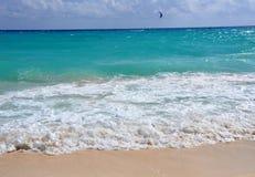 泡沫海浪 库存照片