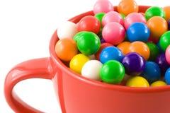 泡泡糖甜点 免版税库存照片