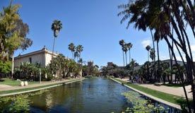 巴波亚公园圣地亚哥 免版税库存图片
