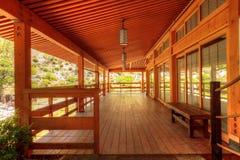 巴波亚公园的平静的日本友谊庭院在圣二 免版税库存照片