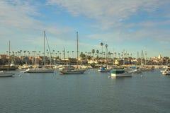 巴波亚海岛,新港海滨,加利福尼亚 库存图片