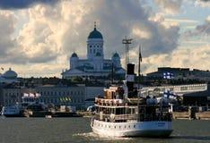 波儿地克的女儿芬兰赫尔辛基海运 库存照片