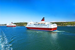 波儿地克的巡航海运船 免版税库存照片