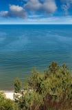 波儿地克的横向海运 免版税库存照片