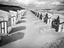 波儿地克的海岛ruegen海运 免版税图库摄影